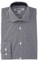 DKNY Check Dress Shirt (Big Boys)
