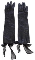 3.1 Phillip Lim Tie-Accented Leather Gloves