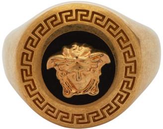 Versace Gold Medusa Medallion Ring