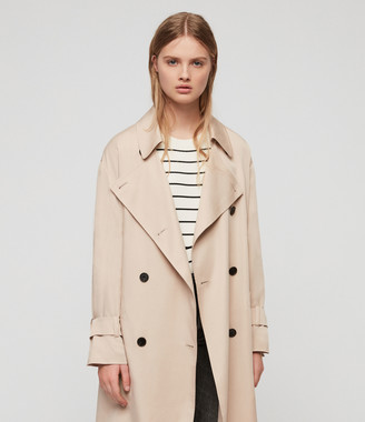 AllSaints Brooke Trench Coat