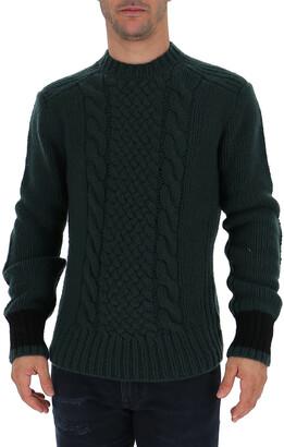 Prada Crewneck Knitted Jumper