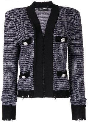 Balmain knitted jacket
