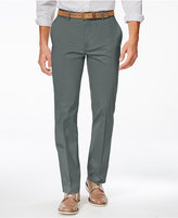 Alfani Men's Slim Sateen Flat-Front Pants, Created for Macy's