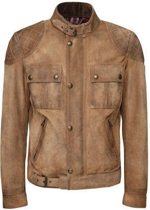 Belstaff Brookstone Burnished Suede Jacket