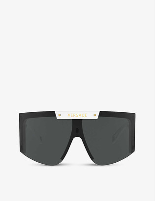 Versace VE4393 visor-frame sunglasses