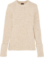 Joseph Ribbed Wool-blend Sweater - Ecru