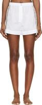 Raphaëlla Riboud White Cotton & Lace Fred Shorts