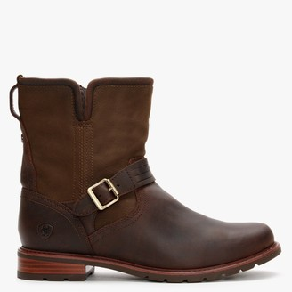 Ariat Savannah H20 Brown Leather Ankle Boots
