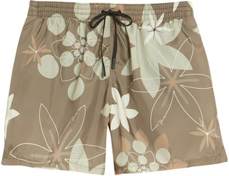 Fendi Kaleidoscope Floral Print Swim Trunks