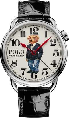 Ralph Lauren 42 MM Tuxedo Bear Watch