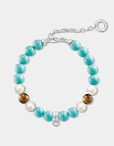 Thomas Sabo Charm Club Turquoise Clasp Bracelet
