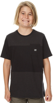 Billabong Kids Boys Trident Tee Black
