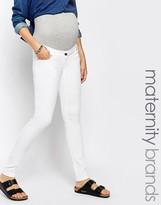 Mama Licious Mama.licious Mamalicious White Skinny Jean