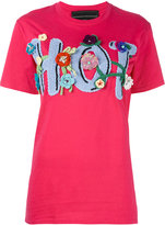 Michaela Buerger - 'Hot' T-shirt - women - Cotton/Cashmere - S