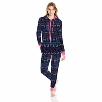 Bottoms Out Women's Printed Sweater Fleece Onesie
