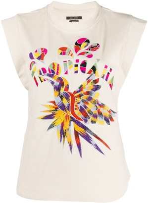 Isabel Marant Seleno embroidered top