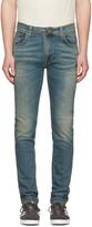 Nudie Jeans Navy Thin Finn Jeans