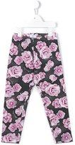 MonnaLisa rose print leggings