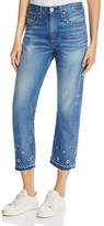 Rag & Bone Vintage Crop Jeans in Medium Wash