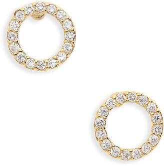 Estella Bartlett Cubic Zirconia Circle Earrings