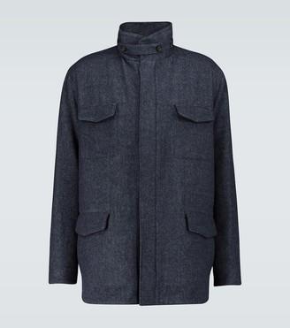 Loro Piana Traveller wool jacket