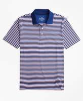 Brooks Brothers Performance Series Outlined Stripe Polo Shirt