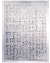 F.J. Kashanian Chelsea Hand-Knotted Wool and Silk Rug