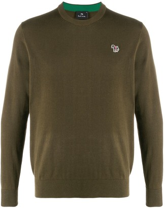 Paul Smith Zebra Logo Sweater