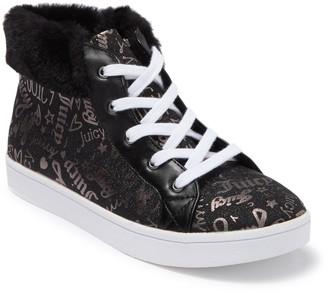 Juicy Couture Westale Faux Fur Trim Sneaker (Toddler, Little Kid, & Big Kid)