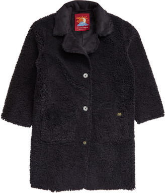 Scotch R'Belle Kids' Reversible Faux Shearling Teddy Coat