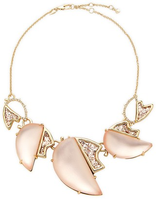 Alexis Bittar 10K Goldplated Crystal Necklace