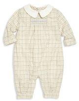 Ralph Lauren Baby's Tattersall Twill Coverall