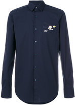 Fendi Rino patch shirt