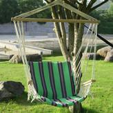 AdecoTrading Tree Hanging Suspended Indoor/Outdoor Cotton Chair Hammock