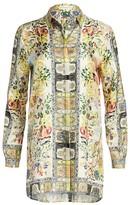 Etro Safari Print Tunic Blouse