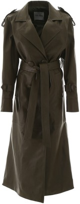 ATTICO Belted Trench Coat
