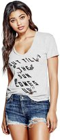 GUESS Sun Comes Up V-Neck Tee