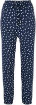 MICHAEL Michael Kors floral track pants - women - Polyester - XS