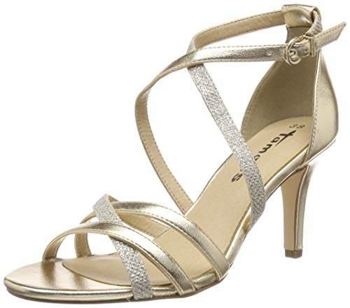 Women Shopstyle Tamaris For Uk Shoes Gold gymbf6IvY7