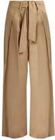 Sea Tie-front wide-leg cotton trousers
