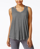 Calvin Klein Cold-Shoulder Tank Top