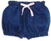 Splendid Infant Girls' Indigo Solid Shorts - Sizes 3-24 Months