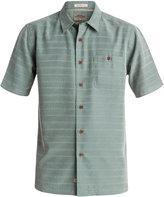 Quiksilver Men's Geometric Striped Shirt