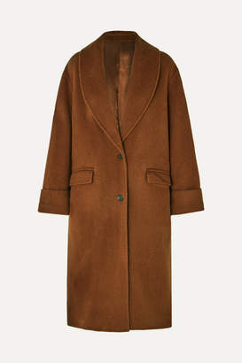 Joseph Kara Wool And Alpaca-blend Coat - Camel