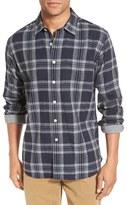 Grayers 'Drummond' Trim Fit Plaid Double Woven Sport Shirt