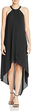 BCBGMAXAZRIA High/Low Draped Gown - 100% Exclusive