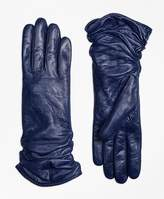 Brooks Brothers Short Leather Opera Gloves