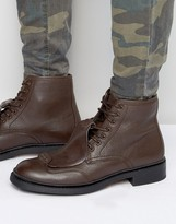 G-star Guard Lace Up Leather Boots