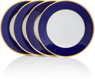 Augarten Wien Set-Of-Four Porcelain Dessert Plates