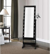Asstd National Brand Inspired Home Amelie Marquee Lights Armoire Jewelry Storage Organizer